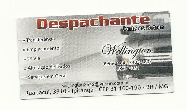 5e659dc60e4 Despachante em Belo Horizonte - MG